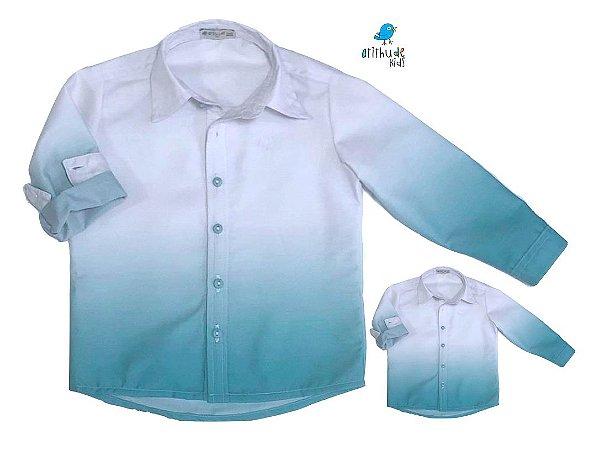 Kit camisa Enzo - Tal pai, tal filho (duas peças)
