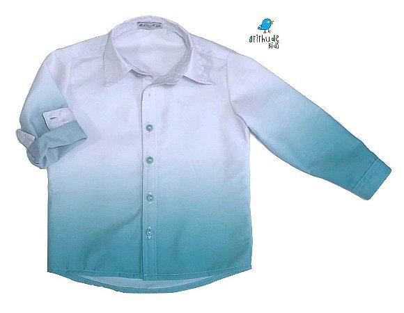 Camisa Enzo -   Tie Dye Verde