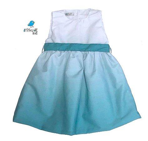 Vestido  Iza - Verde TIe Dye