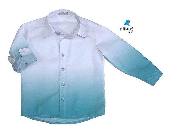 Camisa Enzo - Adulta | Verde Tie Dye