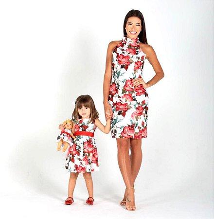 Conjunto Adriana- Tal Mãe, tal Filha | Estampado | flores