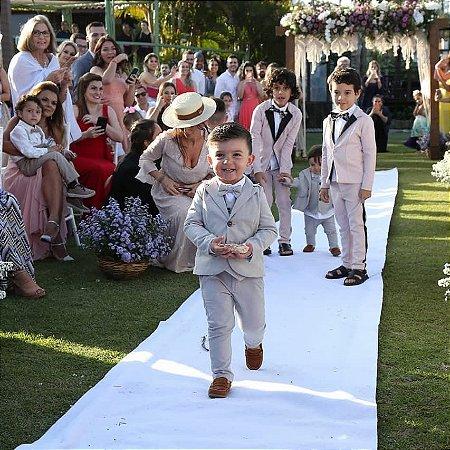 Conjunto Be | Cinza | Blazer, colete, camisa, calça e gravata ( cinco peças)