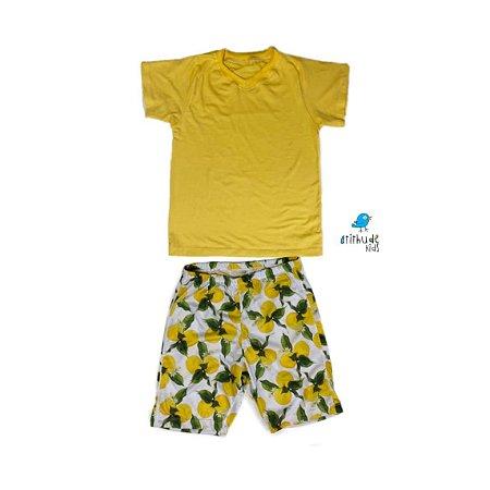 Pijama ícaro - Limões (2 peças)