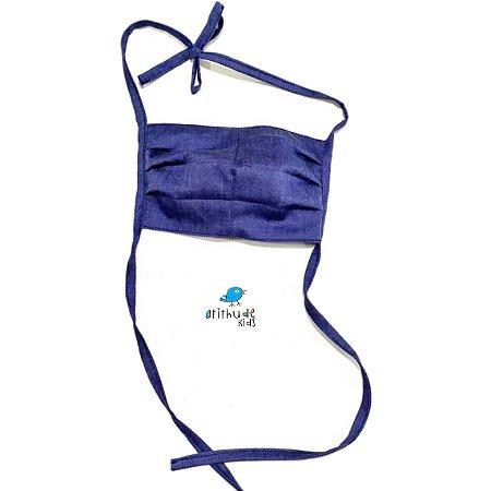 Kit com 5 Máscaras de Proteção - Adulto | Tecido duplo lavável 100% algodão | Reutilizável