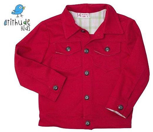 Jaqueta Sarja - Vermelha