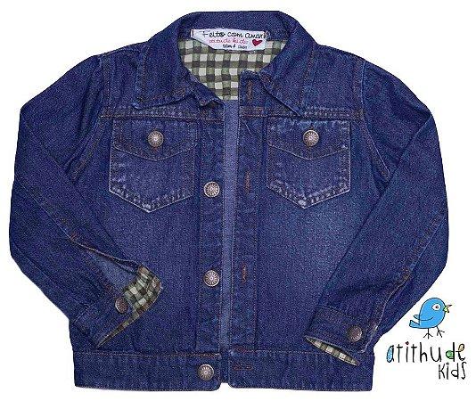 Jaqueta Jeans - Azul escuro