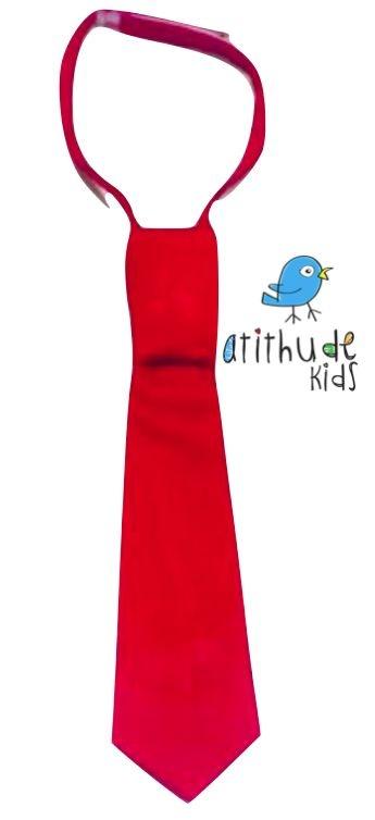 Gravata tradicional - Vermelha