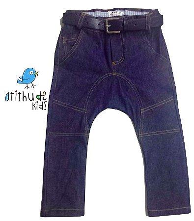 Calça Saruel Dudu - Jeans escuro