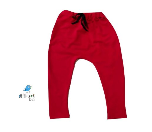 Calça Saruel Gustavo - Vermelha | Malha/Molecotton