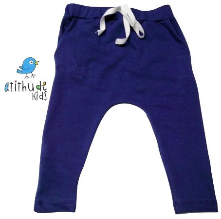 Calça Saruel Gustavo - Azul | Malha/Molecotton
