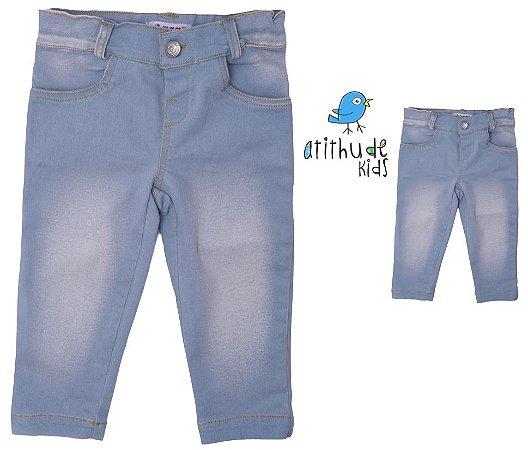 Kit calça jeans tal mãe, tal filho (a) - Jeans Claro