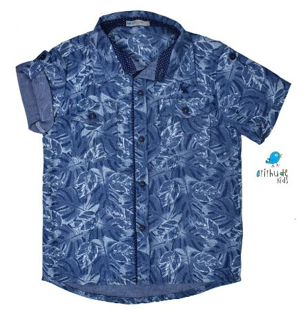 Camisa Juliano - Estampa Folhas | Safari