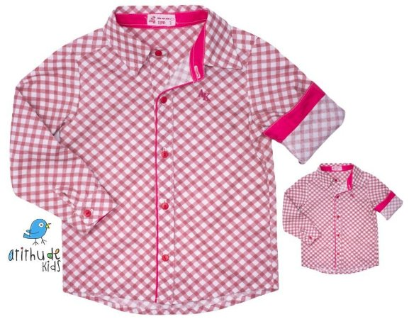 Kit camisa Lelo - Tal pai, tal filho (duas peças) | Fazendinha