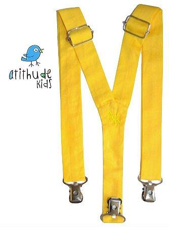 Suspensório Amarelo