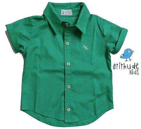 Camisa Marco - Verde (sem bolso)