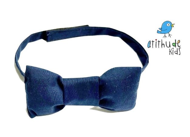 Gravata Borboleta - Azul Marinho