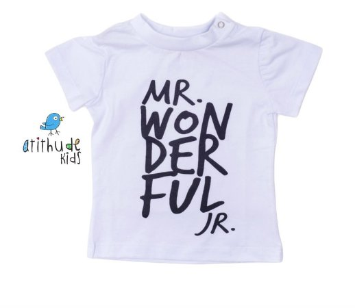 Camiseta Mr. Wonderful - Branca