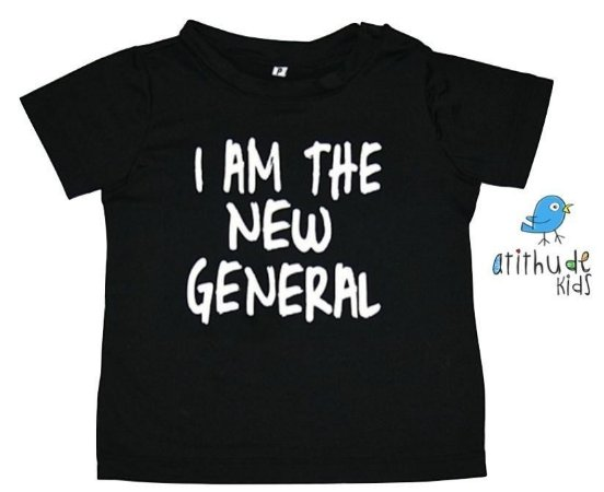 Camiseta - I am the new general