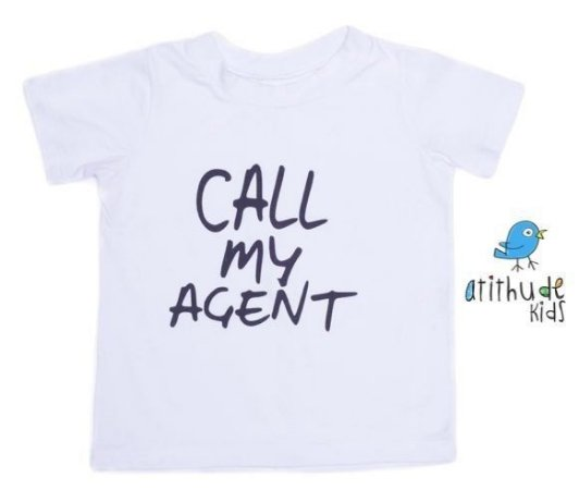 Camiseta Call My Agent - Branca