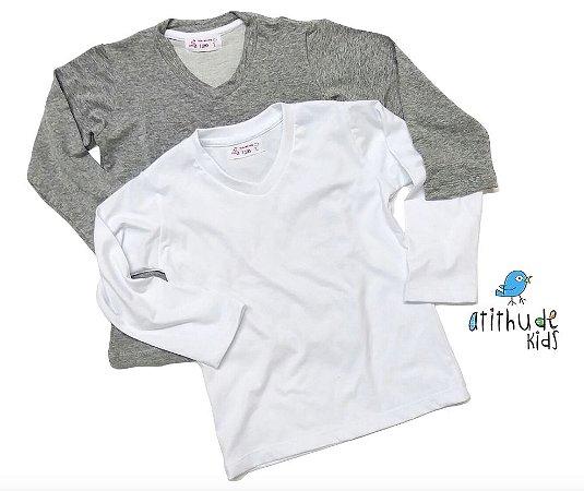 Camiseta Fabian - Kit duas peças
