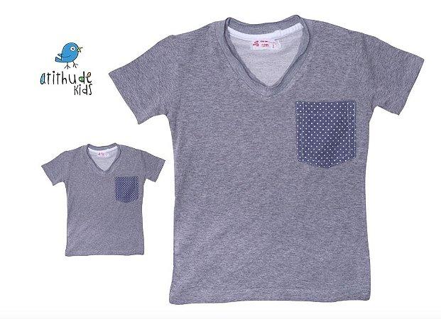 Kit Camiseta Adriano - Tal pai, tal filho (duas peças)