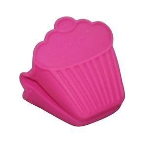 Pegador Silicone - Cupcake