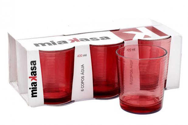 Conjunto com 06 copos