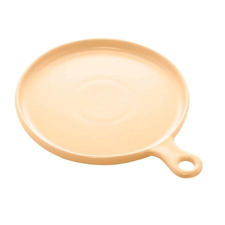 Travessa de Porcelana Nórdica Amarela Matt 26 cm - Bon Gourmet