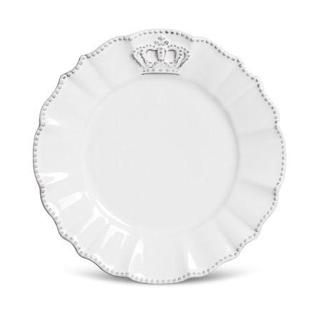 Prato de Sobremesa - Windsor Premium Branco