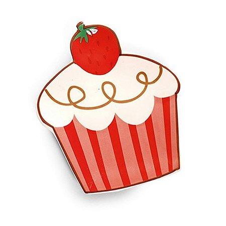 Prato Cupcake - Morango