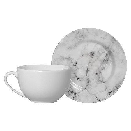 Xícara de Chá Mármore
