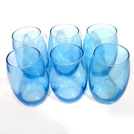 Jogo de Copos - Azul Bellagio