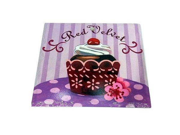 Descanso Panela Cupcake Red Velvet