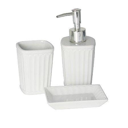 Kit para Banheiro de Cerâmica Antibes - Lyor