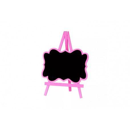 Mini Lousa Cavalete Pink