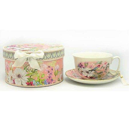 Xícara de Chá - Pássaro