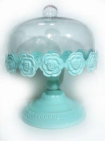 Porta Bolo Floral - Verde Candy