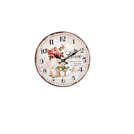 Relógio de Parede - Love