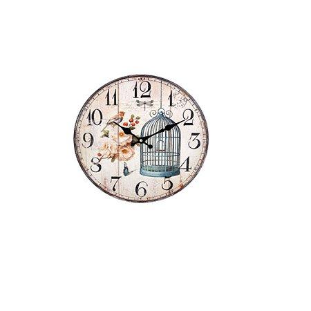 Relógio de Parede - Pássaro
