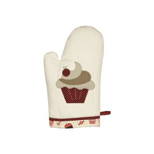 Luva Bordada - Cupcake