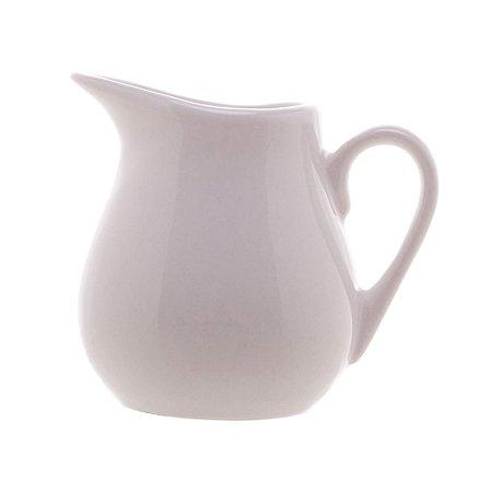 Mini Leiteira de Cerâmica Branca 7 cm - 90 ml