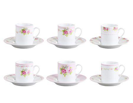 Jogo de Xícaras para Café - Rose