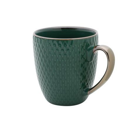 Caneca Porcelana Verde 400ml