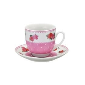 Jogo de 2 Xícaras para Chá - Flores
