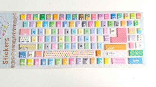 Adesivo para teclado Candy