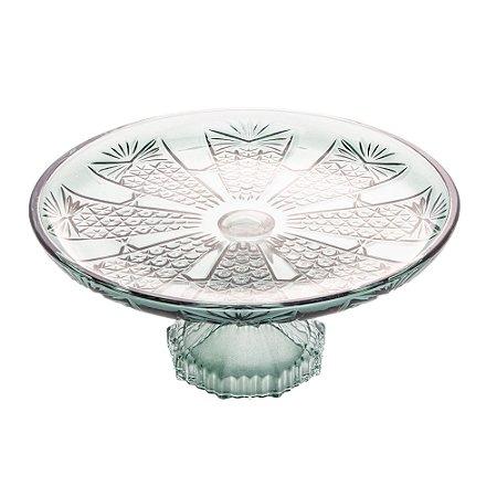 Prato Para Bolo Princess Verde - 20 cm