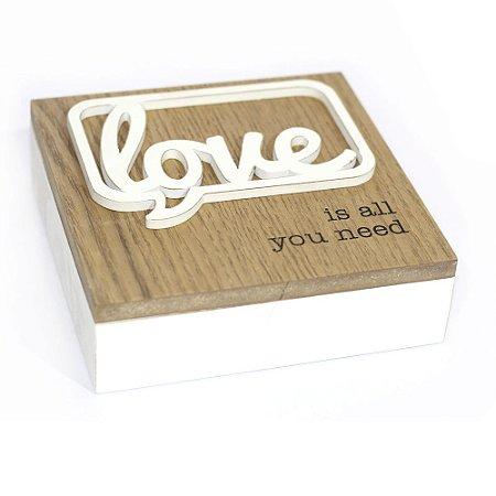 Caixa de MDF Multiuso Love