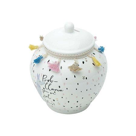 Cofre Cerâmica Big Pote Lhama