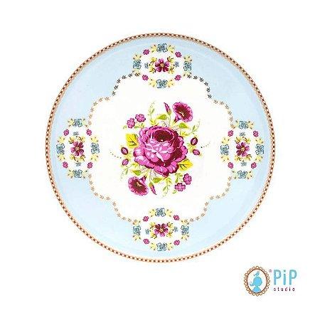 Prato de Pão - Azul Floral PiP Studio