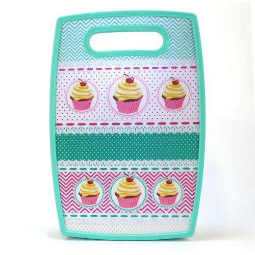 Tábua de Corte Verde Cupcakes
